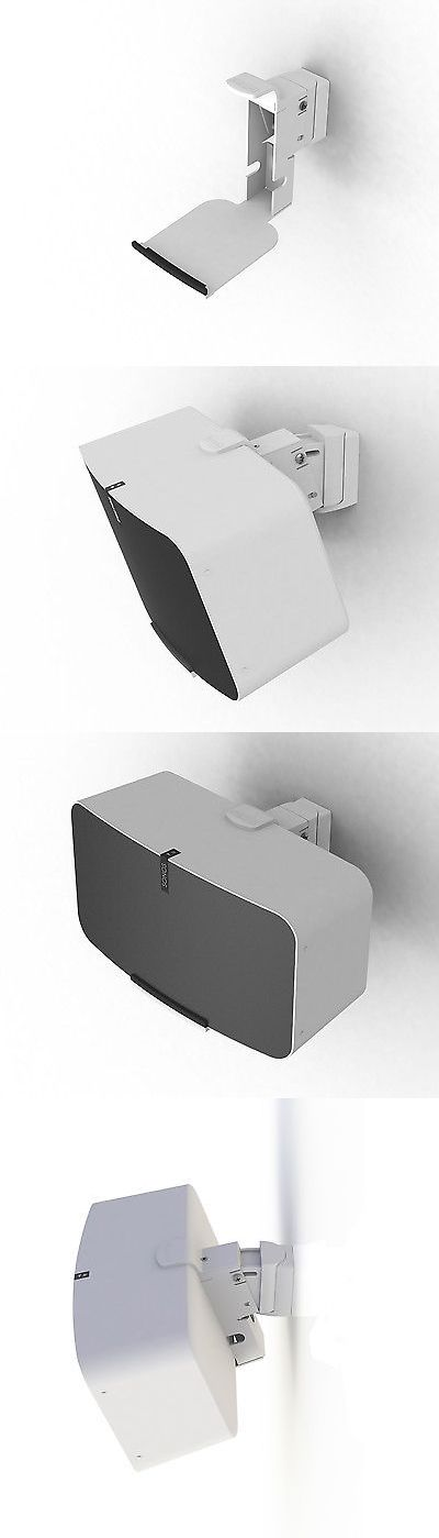 Speaker Mounts and Stands: Flexson Wall Mount For Sonos Play:5 Gen2 (Single, White) BUY IT NOW ONLY: $99.0