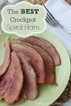 Crockpot Spiral Ham Recipe is so easy to make. I love this for Thanksgiving or Christmas because it cooks in the crockpot!