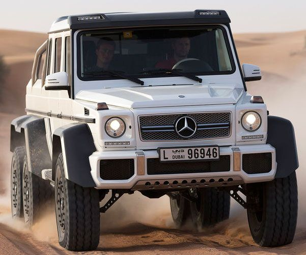 Mercedes Benz 6×6 -- Travel the post-apocalyptic earth in bright rapid extravagance with the robust 6×6 AMG from Mercedes Benz. Powered by an impressive 5.5-liter twin-turbo V-8 that locate under the hood, the 6×6 compose 544 personality hit and run horsepower.