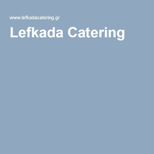 Lefkada Catering