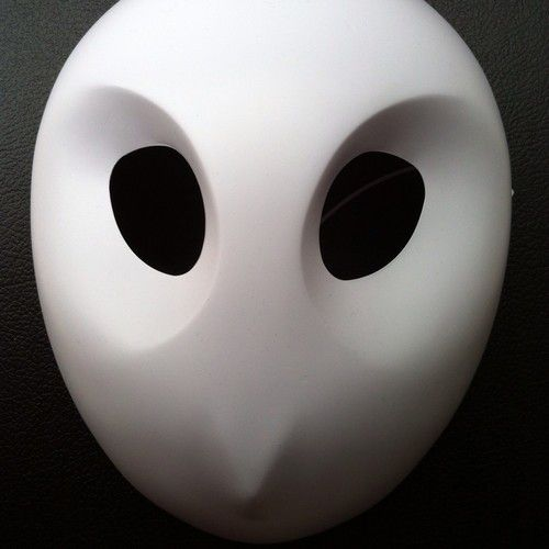 Seriously though, why have I not been to Comic-con? DC handed out Court of Owls Mask