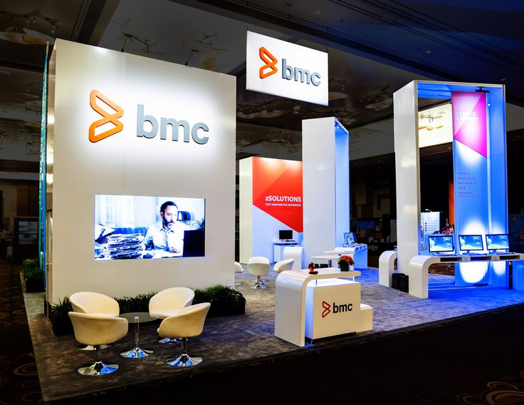 Exhibition Booth Fabrication : Exhibitor bmc software inc system octanorm usa design