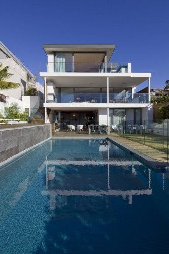 pools pools pools.Swimming Pools, Pools Style, Home Interiors, Interiors Design, Dining Spaces, Bruce Stafford, House, Modern Home, Outdoor Pools