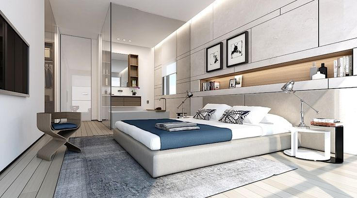 modern bedroom suite