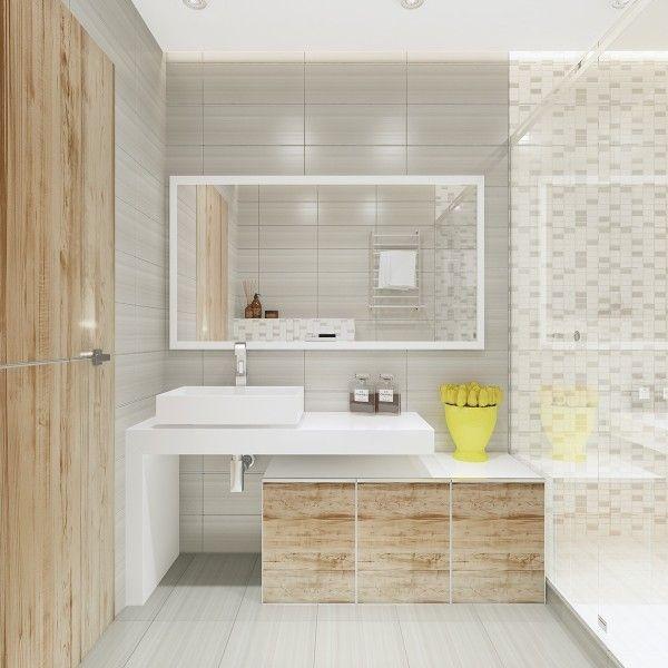 Wood Bathroom Design