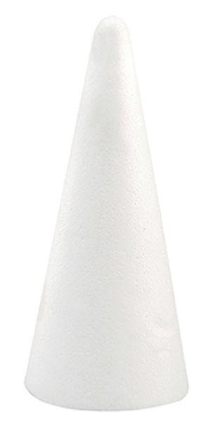 Cone en Polystyrène 30 cm pas cher
