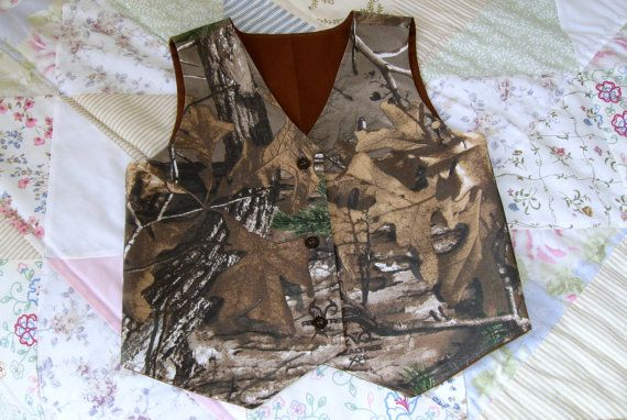 The vests are fully lined with a nice brown or black cotton fabric. The outside…