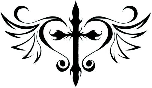 White Ink Tattoo of an Infinity Cross Actually thinking about getting a small white tattoo Pretty is an understatement. Description from pinterest.com. I searched for this on bing.com/images