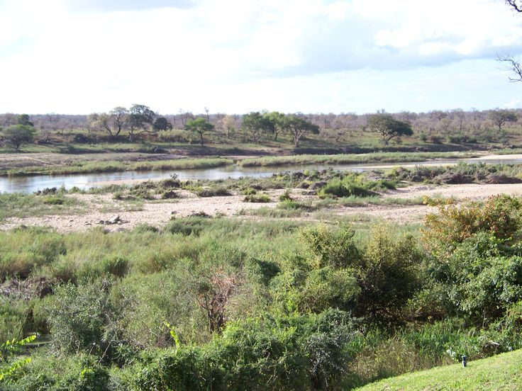Looking into the Kruger National Park (KNP) from Ngwenya Lodge, which shares the…