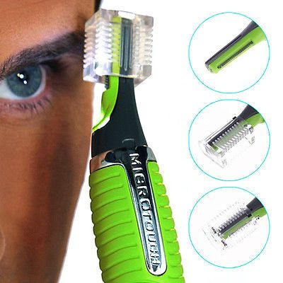 Micro Touch Max Personal Ear Nose Neck Eyebrow Hair Trimmer Groomer Remover US