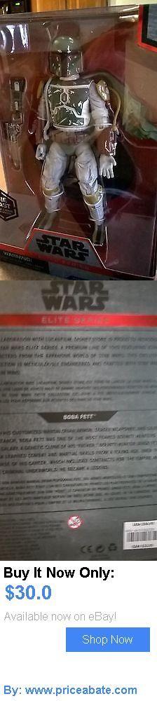 Toys And Games: New Star Wars Elite Series Boba Fett Disney Die Cast Action Figure BUY IT NOW ONLY: $30.0 #priceabateToysAndGames OR #priceabate