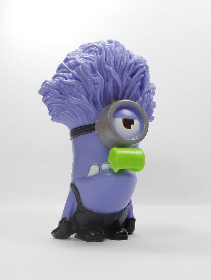 Despicable Me - Minion - Evil Noisemaker - Toy Figure - Cake Topper (5)