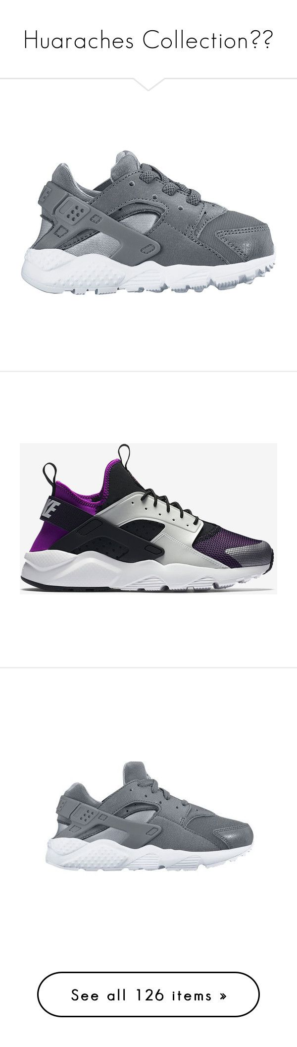 """Huaraches Collection💖💖"" by xxxfasiontrendsxxx on Polyvore featuring men's fashion, men's shoes, nike mens shoes, mens shoes, men's sneakers, sneakers, white, mens white slip on sneakers, mens running shoes and mens slip on shoes"