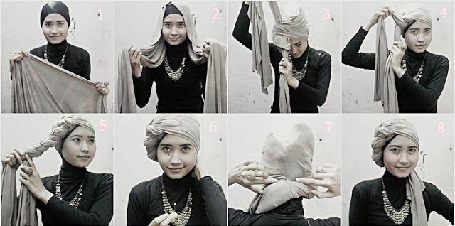 Pintar Pakai Jilbab: Tutorial Jilbab Turban Style