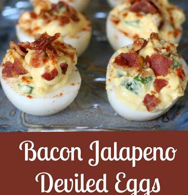 Easy Homesteading: Bacon Jalapeno Deviled Eggs Recipe