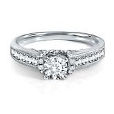 1ct TW Solitaria Diamond Engagement Ring in 14k Gold. Love this one!    THIS IS WHAT I WANT!!!