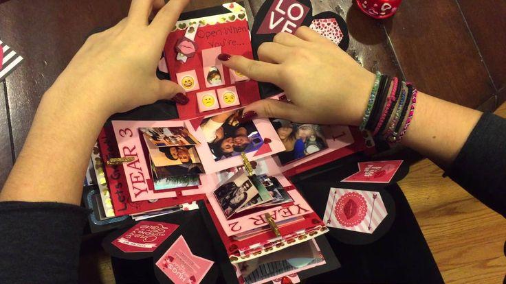 Explosion Box for Boyfriend (Valentine's Day/Anniversary ...