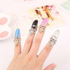 #Banggood Европейский сладкий декор Rhinestone короны ноготь кольцо (1001442) #SuperDeals