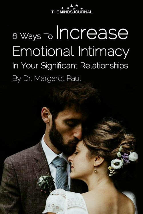 ways to increase intimacy