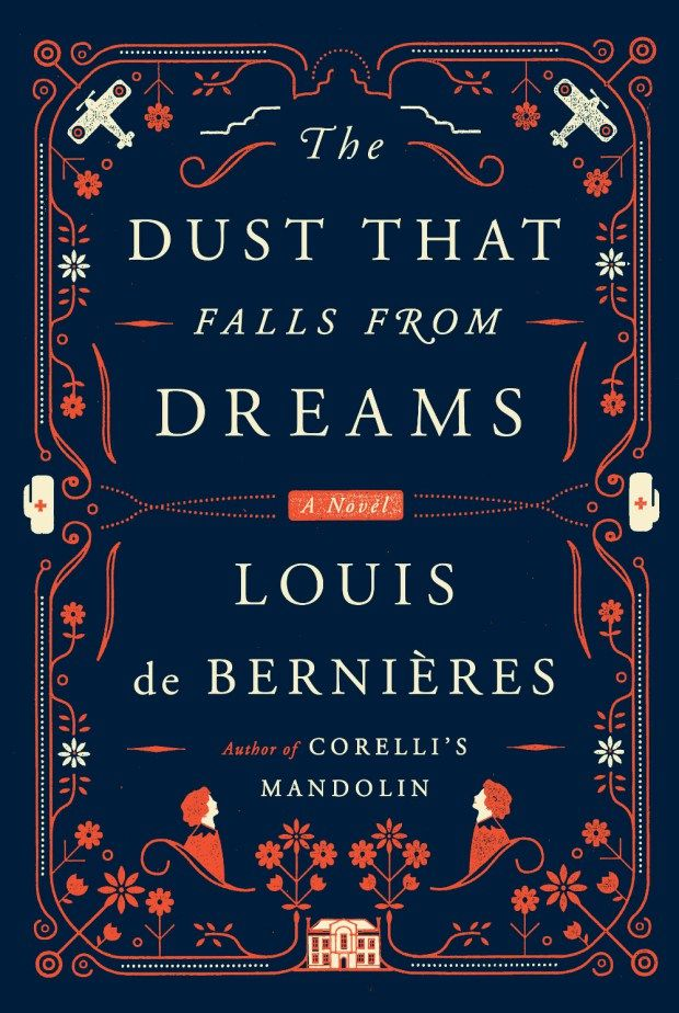 A beautiful cover...and a wonderful book inside. Dust That Falls From Dreams design Oliver Munday