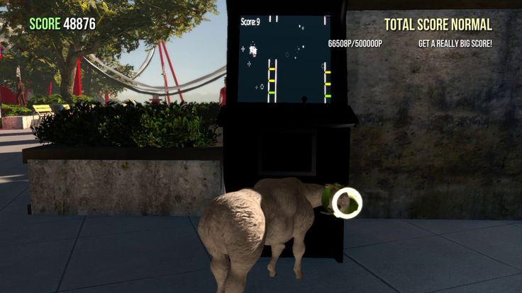 I did it!!   Flappy Goat Trophy   Goat Simulator