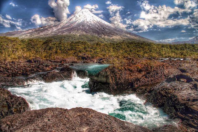 HDR Travel Pictures: Saltos del Petrohué