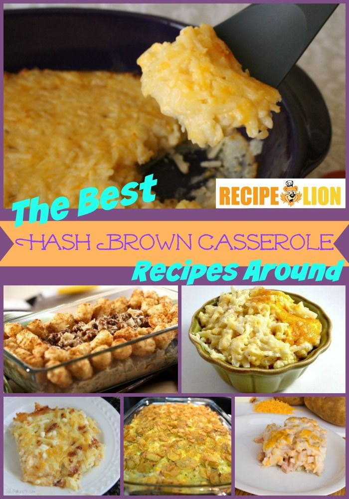 Easy Hash Brown Casserole Recipes - These easy casserole recipes are instant crowd pleasers