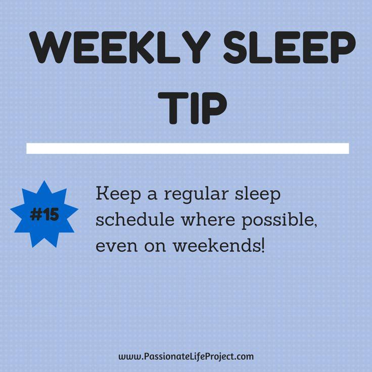 Sleep Tip #15