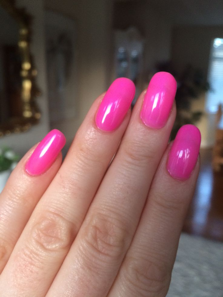 EzFlow TruGel Rodeo Queen Bright Pink Gel Nails | Nail ...