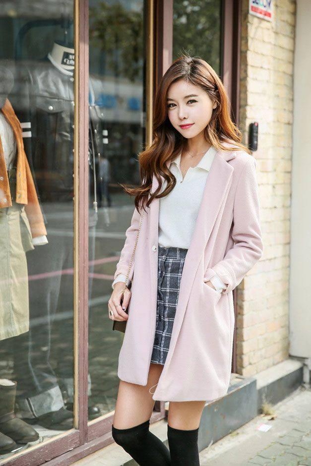 Pastel Pocket Coat