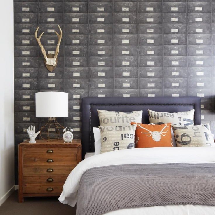 vintage industrial bedroom If you like this then check out my shop for one  of. 29 best Bedroom ideas   Quartos images on Pinterest
