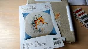 Картинки по запросу вышивка с лисами