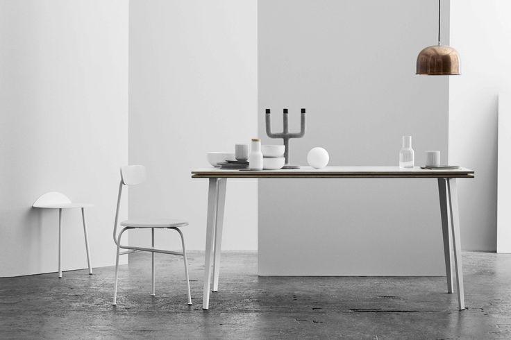 Afteroom Dining Chair 3 i ljusgrå #menu #afteroomstudio #minimalism #gråskala