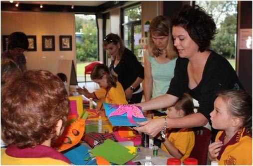 Kids workshop at the Tableland Regional Gallery