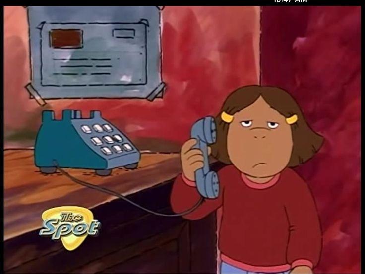 Arthur- Francine's face