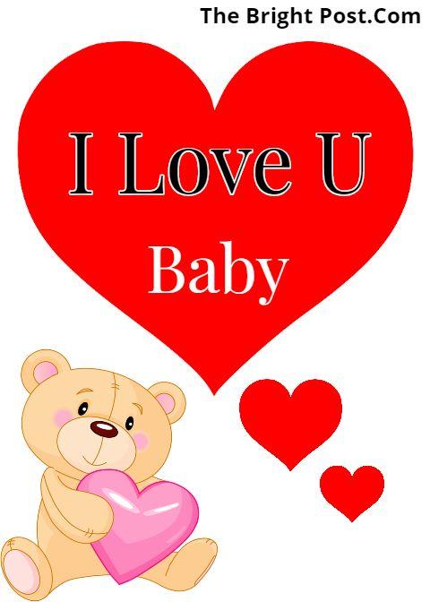 I Love You My Baby Status I Love You Baby Status I Love You Baby