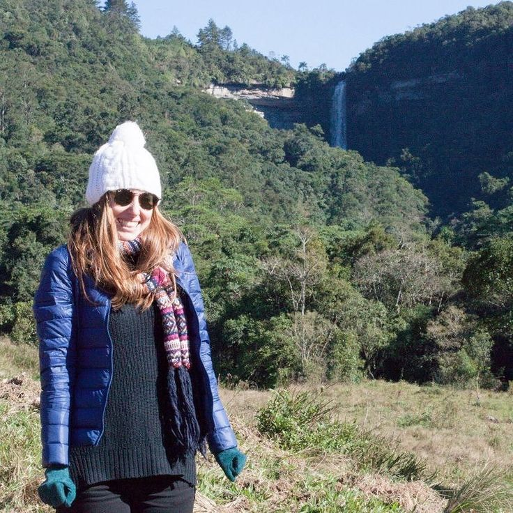 Melhor ainda com a melhor companhia... #zinco #campodozinco #santacatarina #cachoeira #waterfall
