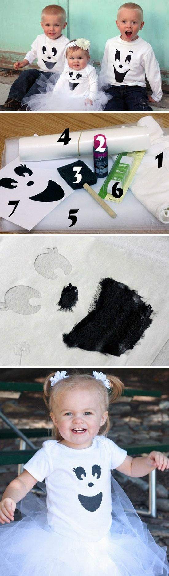 Easy Ghost Costume | 25+ DIY Halloween Costumes for Kids to Make