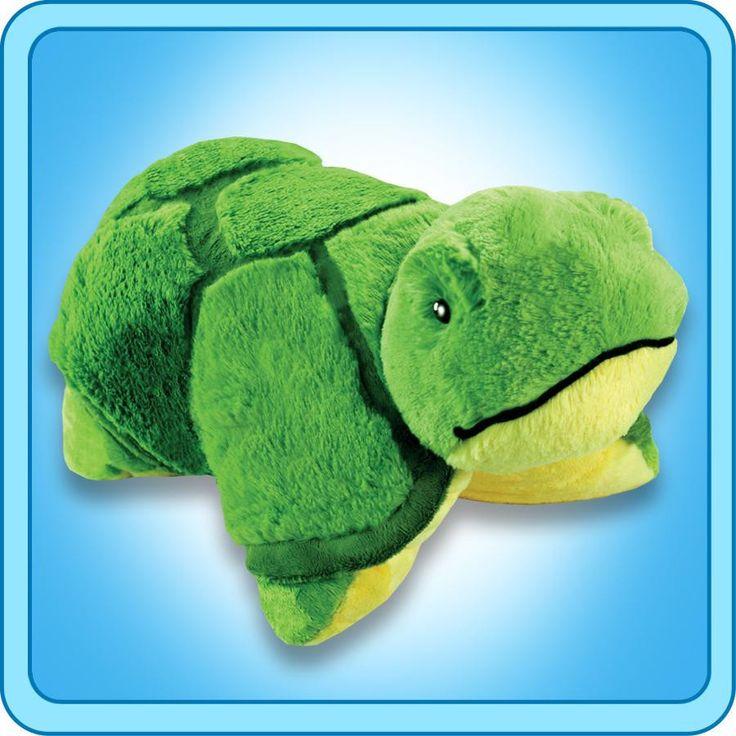 PeeWee Tardy Turtle | My Pillow Pets® Canada