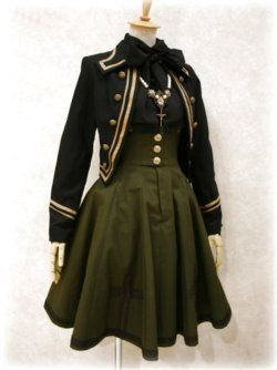 High waisted skirt - would look great in wool