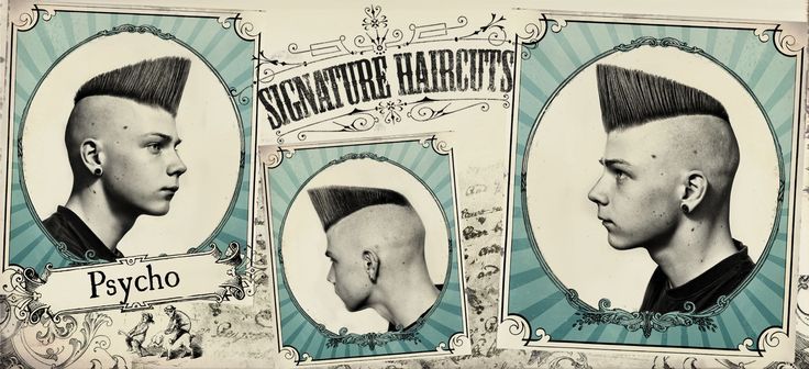 Psychobilly Hairstyle Men See full-sized image