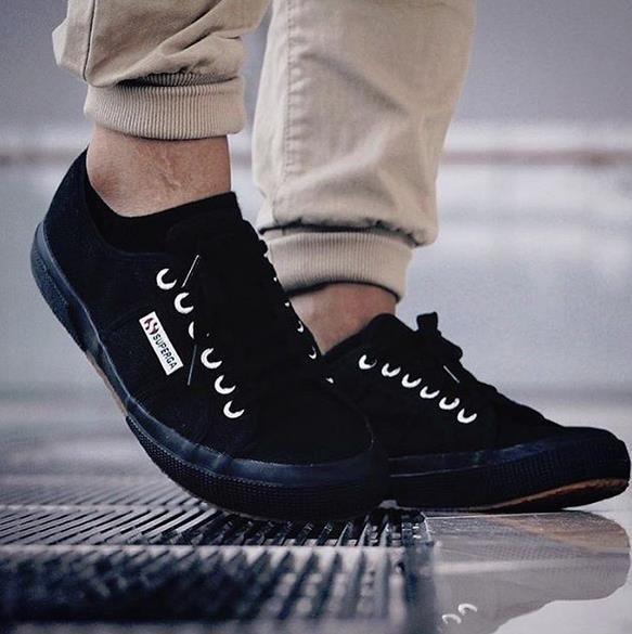 ____Superga 2750 Full Black____ #men#style#shop#siderstores #shoesshop #supergalove #mensfashion #sidervaluableste