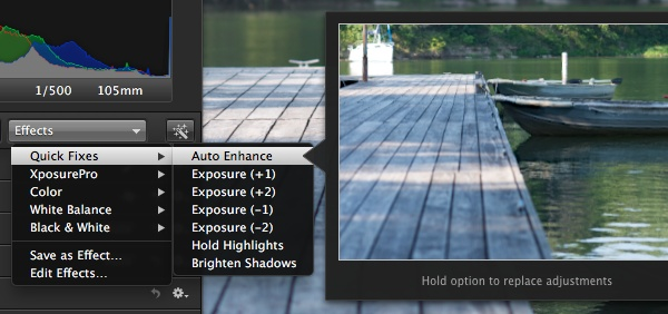 How To Edit Photos in Aperture 3