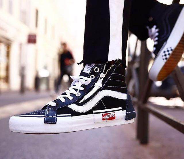 WeAreFansOfSneakers | Vans, Vans high top sneaker