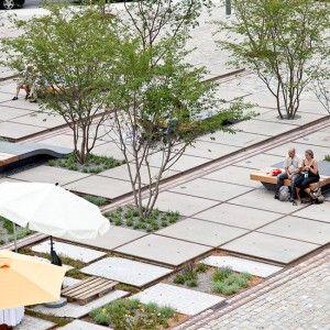 Zollhallen Plaza by Atelier Dreiseitl