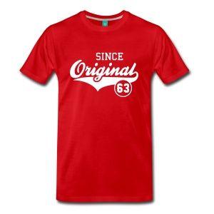 Original SINCE 1963 T-Shirt - 50th birthday