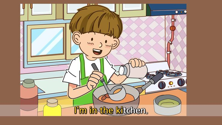 Where are you? - I'm in the kitchen. - English song for Kids - Let's sin...