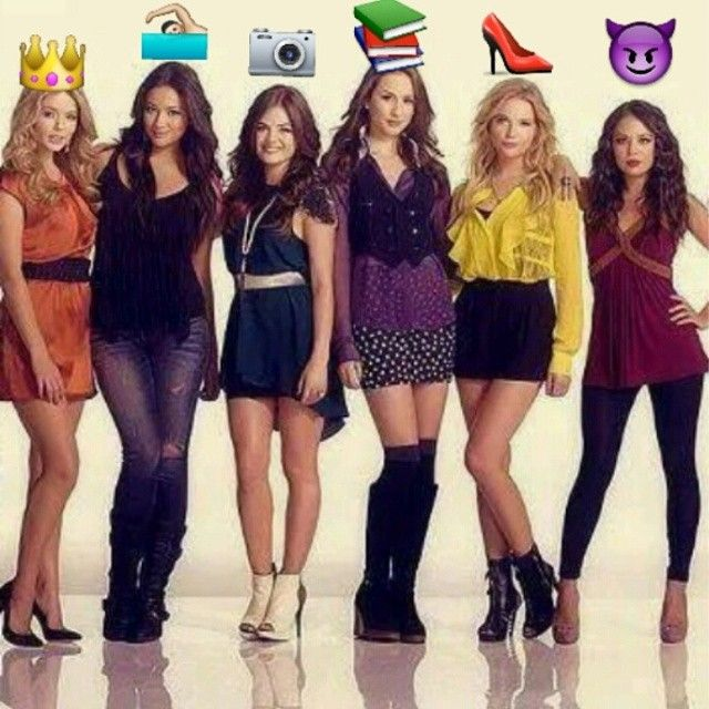 The LIARS with EMOJIS by Albert_Spain! | Pretty Little Liars