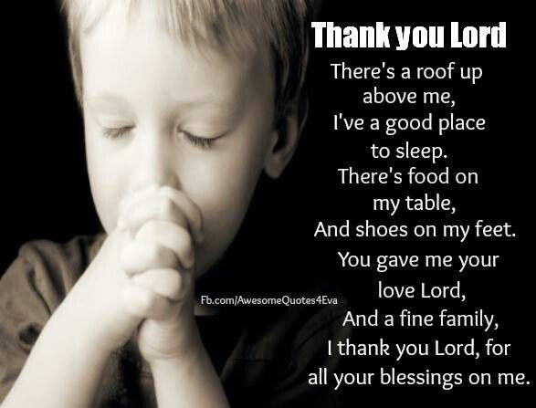 I Thank God Daily For All My Blessings.