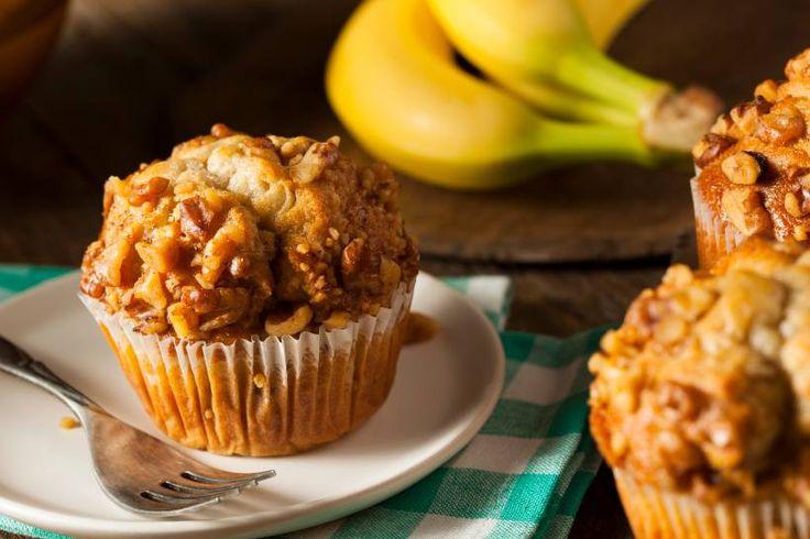 Komm mit! - Rezept: Zuckerfreie Bananen-Buttermilch-Muffins - Muffins – super lecker und saftig, sie können sogar gesund sein. Ellen-Jane Austin hat uns ihr Rezept für sporttaugliche Bananenmuffins verraten.